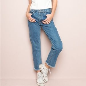 Brandy Melville Danny High Rise Boyfriend Jeans